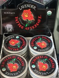 Copy of Rose Tattoo Aftercare - Lavender 12x40ml