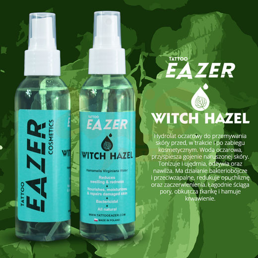 TATTOO EAZER WITCH HAZEL 150ml