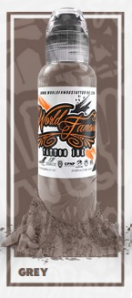 World Famous Ink - A.D. Pancho Grey - 30 ml