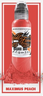 World Famous Ink - Maximus Peach 30 ml *Master Mike