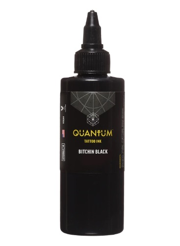 Quantum Tattoo Ink Bitchin Black 30ml