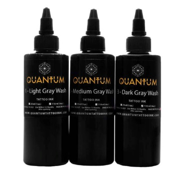 Quantum Tattoo Ink Graywash Set 3x 30ml