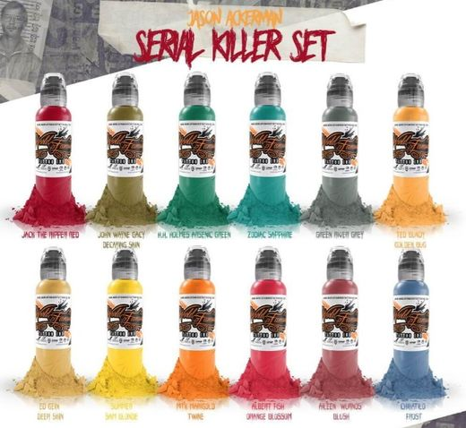 WFI - Jason Ackerman Serie Killer set 12x30ml