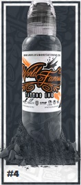 World Famous Ink - A.D. Pancho Paster Grey #4 - 30 ml