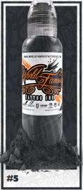 World Famous Ink - A.D. Pancho Paster Grey #5 - 30 ml