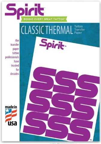 "Spirit Original Tattoo Thermal Image Copier Paper - 8-1/2"" x 11"""