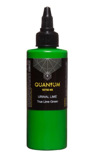 Quantum Tattoo Ink Urinal Lime 20ml